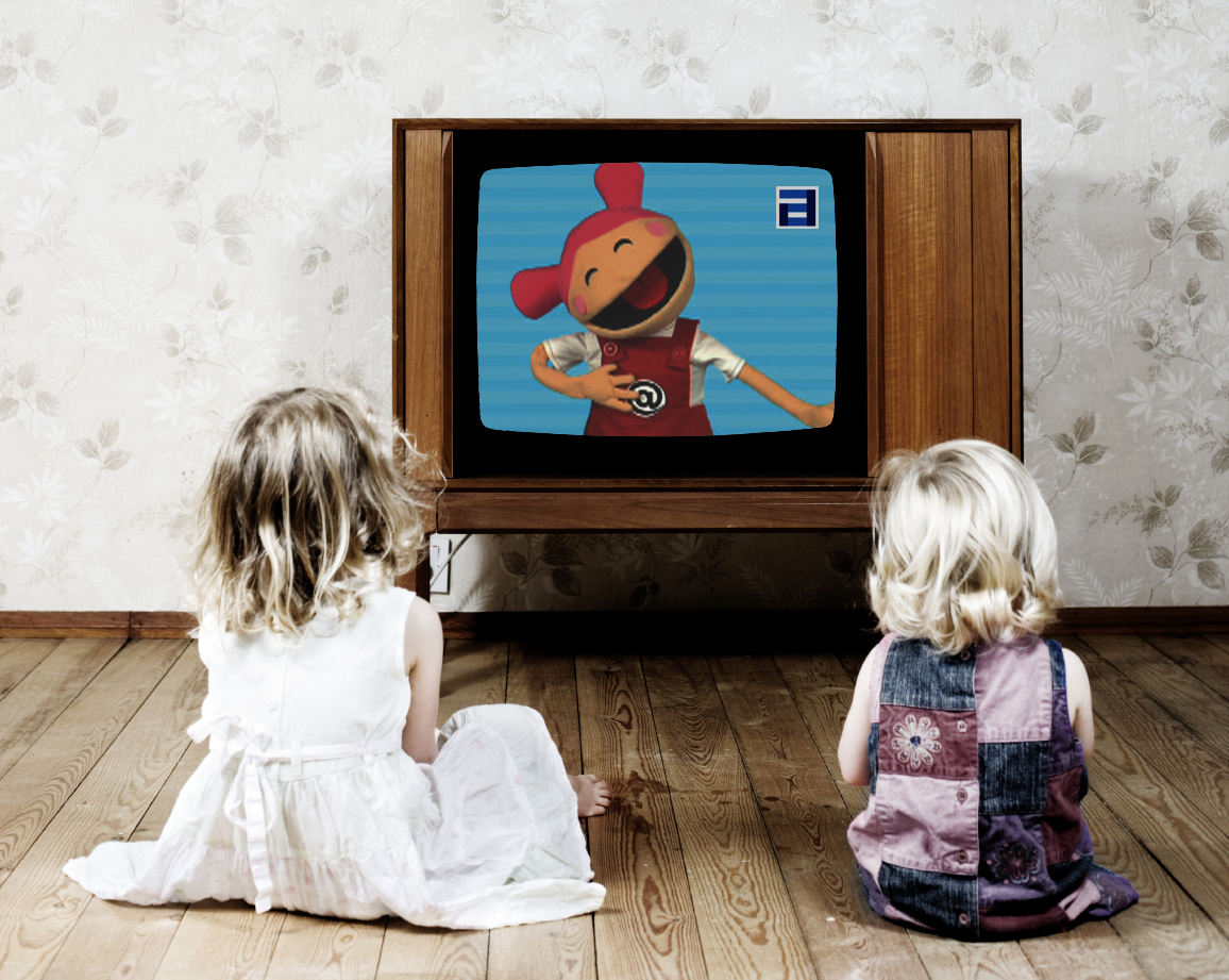 картинка для детей телевизора